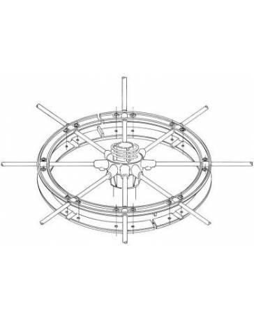 Sirio 827 nilonový kroužek