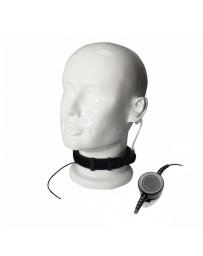 Náhlavní souprava krční mikrofon