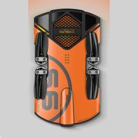 S6 oranžový