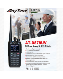 Anytone AT-D878UV GPS UHF/VHF