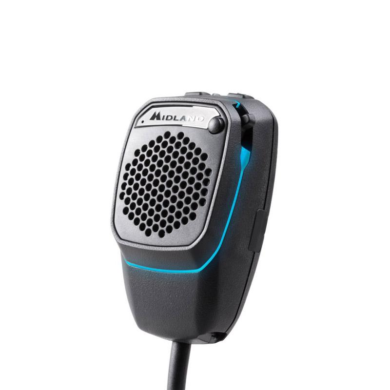 Midland Dual Mike 6 pin, Bluetooth a CB