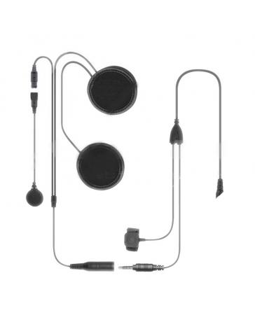 Headset do přilby