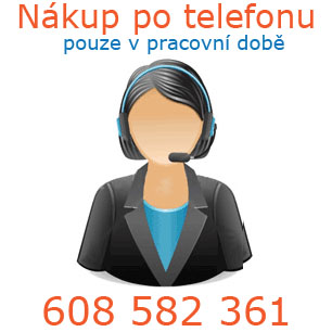 Nákup po telefonu v době od 08:30 - 16:30