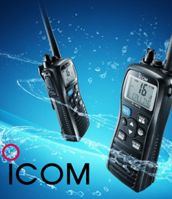 ICOM - jednička v lodní komunikaci
